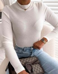 Блуза - код 0688 - бело