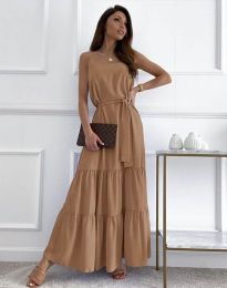 Фустан - код 2578 - капучино