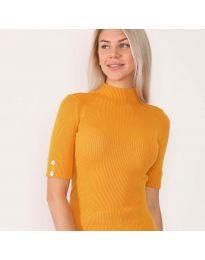Блуза - код 2938 - портокалова