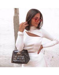 Блуза - код 919 - бело