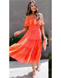 Фустан - код 699 - портокалова