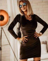 Фустан - код 4161 - 1 - црна