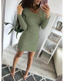 Фустан - код 3298 - зелена
