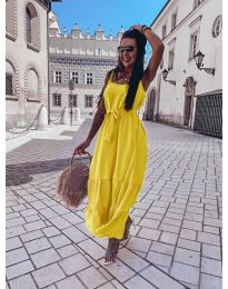Фустан - код 1230 - жолта