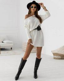 Фустан - код 6940 - бела