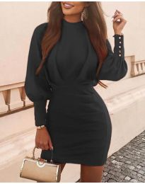 Фустан - код 4016 - црна