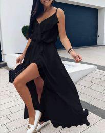 Фустан - код 6432 - црна