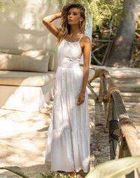 Фустан - код 2991 - бело