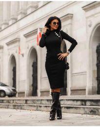 Фустан - код 7099 - 1 - црна