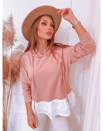 Блуза - код 3898 - розова