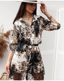 Фустан - код 3635 - 1 - шарена