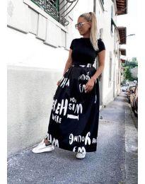 Сукња - код 5368 - црна
