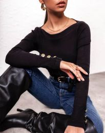 Блуза - код 11656 - црна