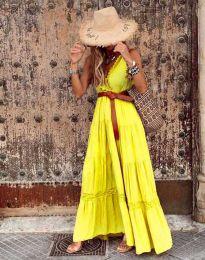 Фустан - код 0817 - жолта