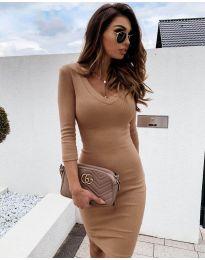 Фустан - код 4040 - капучино