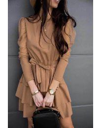 Фустан - код 8384 - капучино