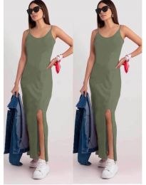 Фустан - код 3000 - светло зелено