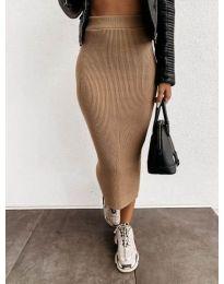Сукња - код 4043 - капучино