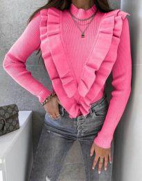 Блуза - код 1682 - розова