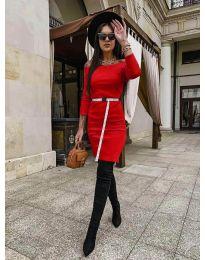 Блуза - код 5190 - црвена