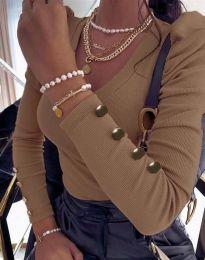 Блуза - код 2065 - капучино