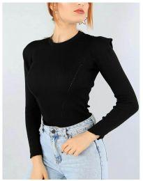 Блуза - код 374 - црна