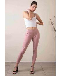 Панталони - код 733 - 1 - розова
