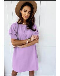 Фустан - код 9868 - виолетова