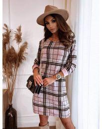Фустан - код 2520 -1 - шарена