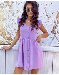 Фустан - код 3033 - виолетова