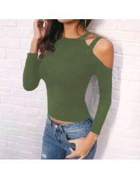 Блуза - код 952 - зелена