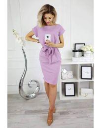 Фустан - код 774 - светло виолетова