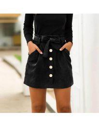 Сукња - код 5471 - црна