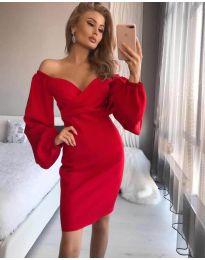 Фустан - код 6761 - црвена