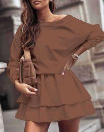 Фустан - код 0525 - кафеава