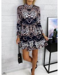 Фустан - код 7272 - 1 - шарена