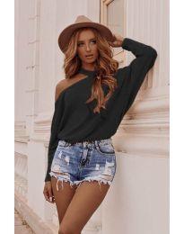 Блуза - код 895 - црна