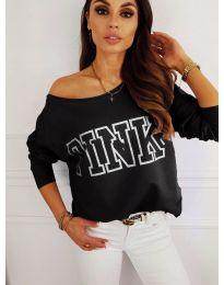 Блуза - код 5464 - црна