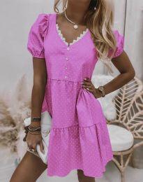 Фустан - код 8292 - розова