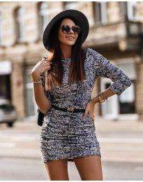 Фустан - код 326 - 3 - шарена