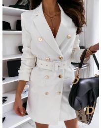 Фустан - код 5888 - 2 - бело