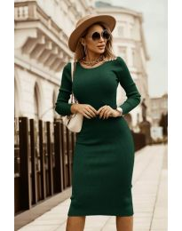 Фустан - код 8485 - путер зелена
