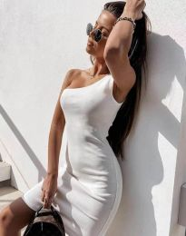 Фустан - код 6412 - бело