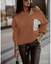 Блуза - код 904 - кафеава
