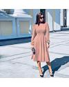 Фустан - код 4572 - розова